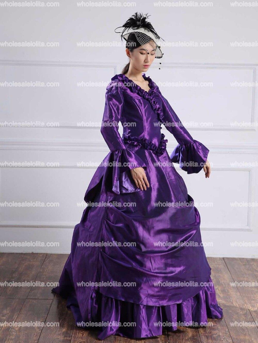 1bb6dbfb7 18th de siglo Marie Antoinette vestidos renacimiento Medieval mucho tiempo  siguiendo victoriana trajes en Disfraces miedo mujer de La novedad y de uso  ...