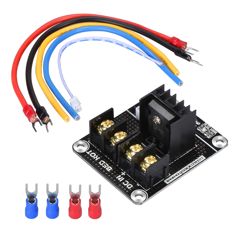 BTMOS V2.0 Heated Bed Module Power Module Expansion Board Mos Tube High Current MOSFET Upgrade Ramps 1.4 For 3D Printer Parts цены онлайн