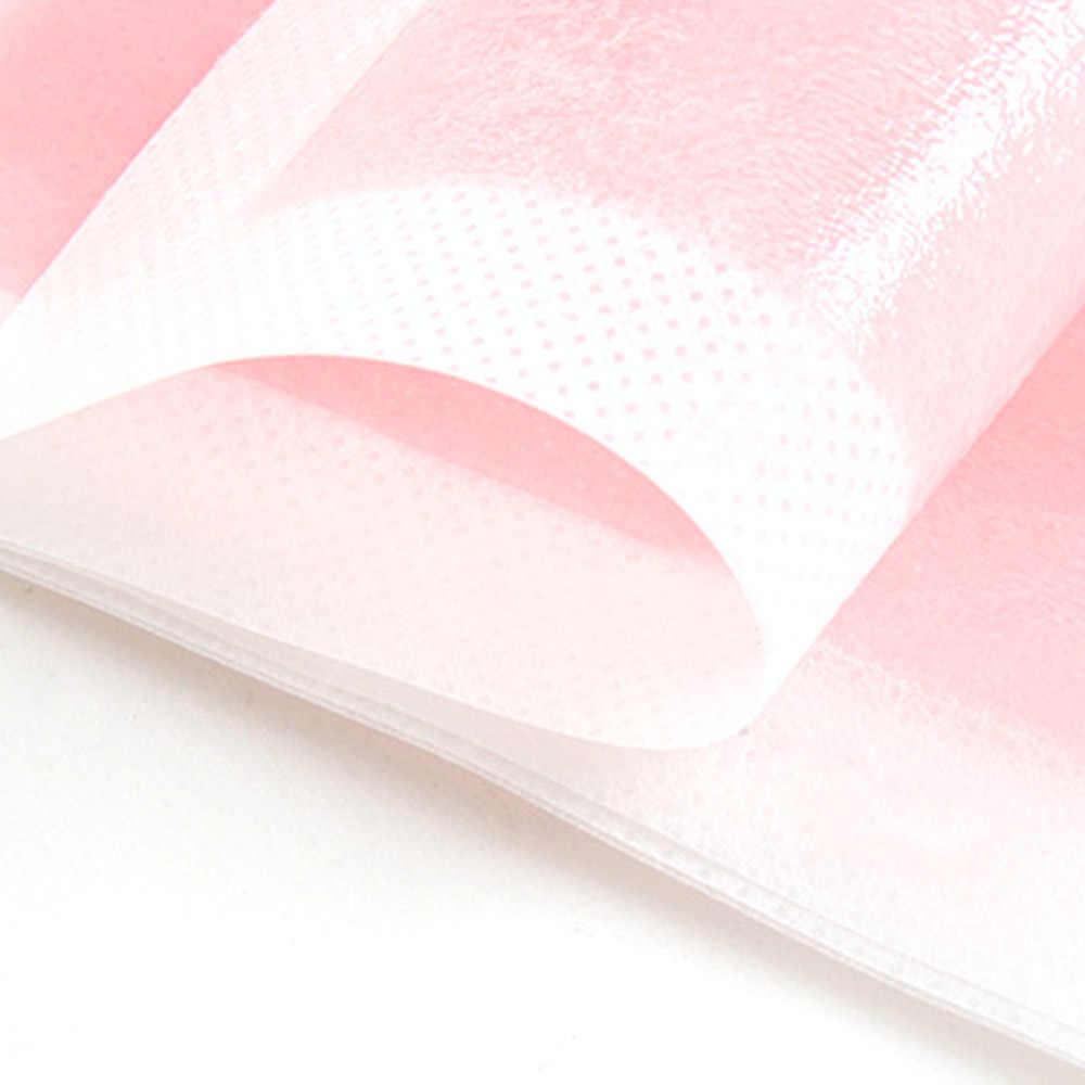 10 adet tüy dökücü epilasyon balmumu kağıtları çift taraflı Nonwoven epilatör isıtıcı ağda kağıt kaldırma Nonwoven vücut kumaş saç J11