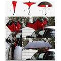 Criativo invertido lidar com guarda-chuva Anti vento osso de fibra de dupla camada de pano à prova de ultravioleta sombrinha guarda-chuva Guarda-chuva Invertido