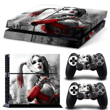 Superman skin stickers for sony playstation 4 ps4 console + 2 pcs stickers for ps4 controller sticker for ps4 accessories видеоигра для ps4 for honor