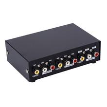 MT VIKI RCA AV Switch 2 Input 1 Output Audio Video Selector MT 231AV for 2