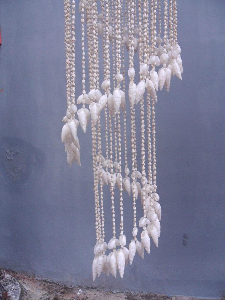 Ракушка в виде раковины, колокольчики, подвесные украшения, креативная дружба, подарок на день рождения, украшение для двери, Средиземноморское украшение для дома - 4