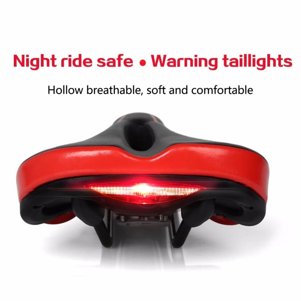 MTB Road Mountain Bike Saddle Soft Hollow Breathable Bicycle Seat Cushion Pad