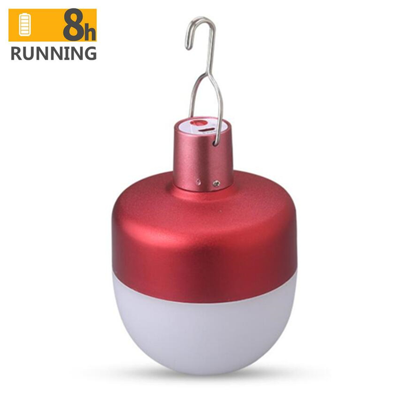 Apple style USB rechargeable LED bulb 60w portable led lamp outdoor camping emergency lighting LED bulb