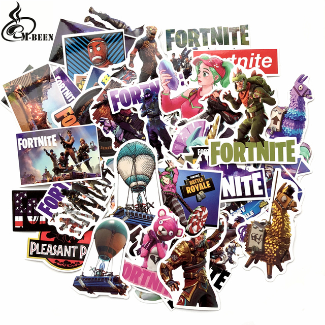 50Pcs/lot cool games Stickers For Computer PS4 Pad Phone Laptop TV Fridge Bicycle Pvc Waterproof Decal Sticker
