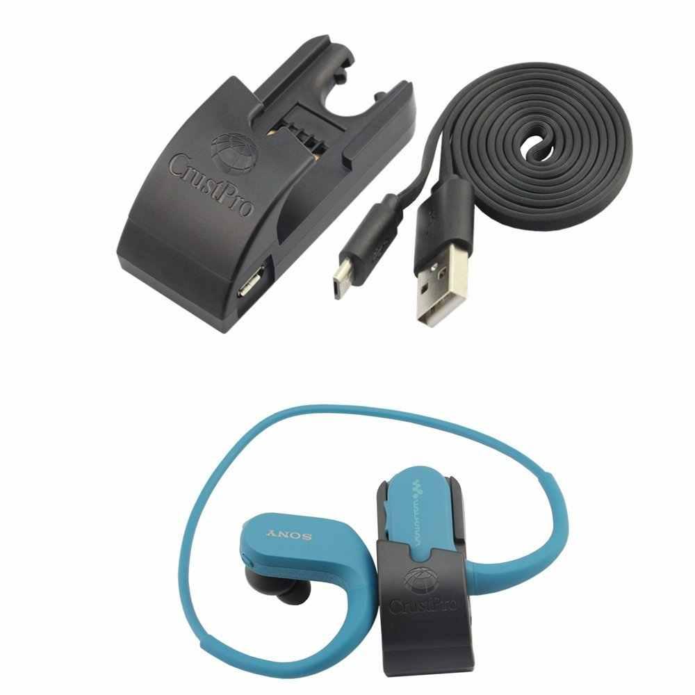 Заменить Кредл синхронизации данных док зарядка через usb защелка-зарядное устройство для SONY NW-WS414 NW-WS413 NW-WS623 NW-WS625 Walkman, наушники