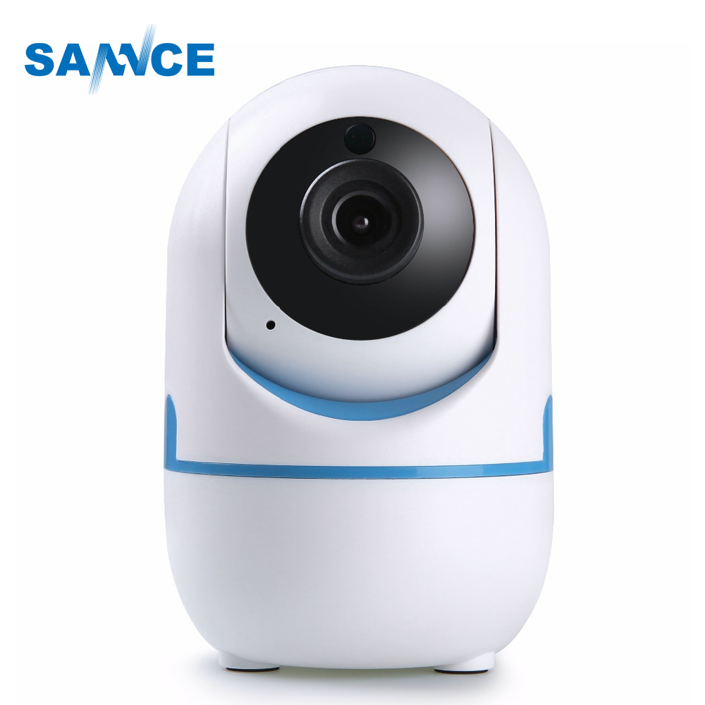 SANNCE 720P HD Smart Wireless IP Camera 1.0MP TWO-WAY Audio IR night vision wifi PTZ Camera CCTV home security baby monitor sannce 720p hd smart wireless ip camera 1 0mp two way audio ir night vision wifi ptz camera cctv home security baby monitor