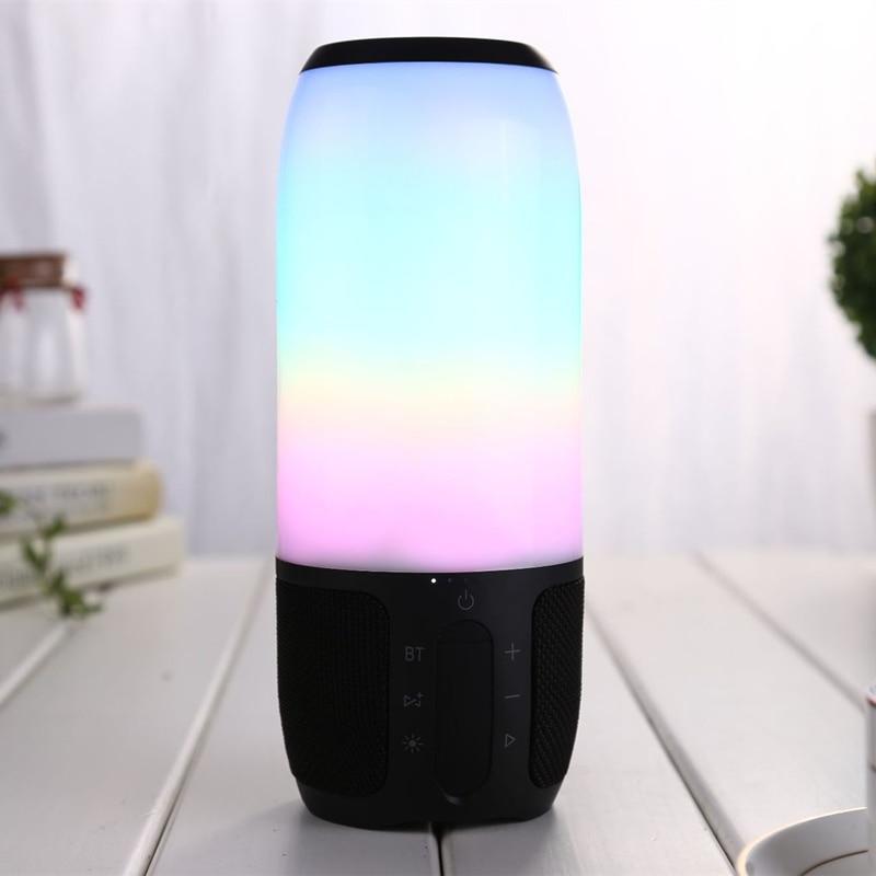 2018 mini smart Bluetooth Speaker LED Portable Wireless Speaker pulse3 D Stereo MP3 Player for jbl phone computer speaker стоимость