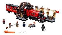 цены Zhenwei Hogwarts Express with Figures Train Building Block Toys Bricks Kids Boys Toys for Christmas Gift
