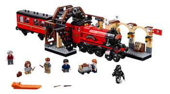 Zhenwei Hogwarts Express with Figures Train Building Block Toys Bricks Kids Boys Toys for Christmas Gift movie series hogwarts express train set diy building block toys bricks compatible with legoingly gifts for children
