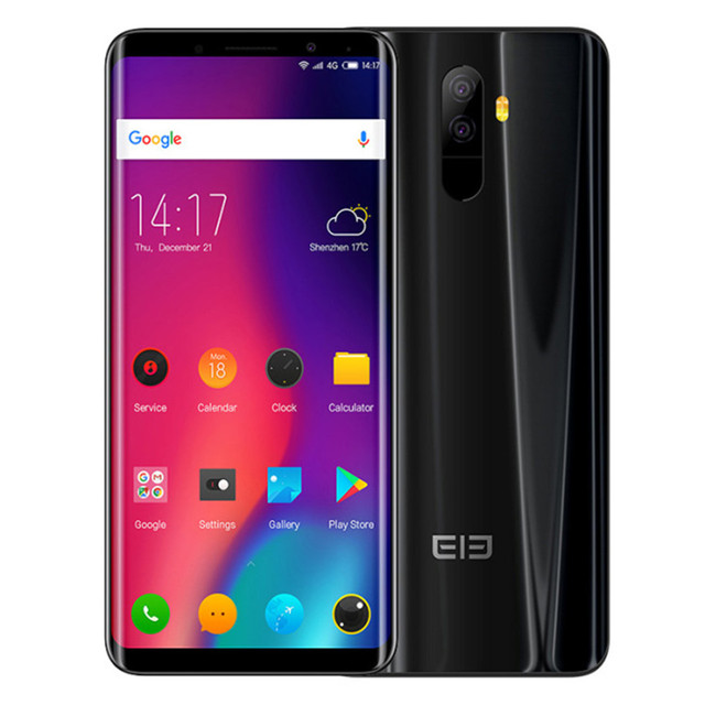 ELEPHONE U 6GB RAM 128GB ROM Helio P23 MTK6763 2.0GHz Octa Core 5.99 Inch FHD+ Screen Dual Camera Android 7.1 4G LTE Smartphone