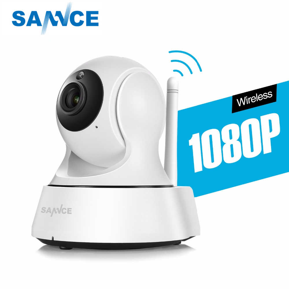 Sannce Hd 720P 1080P Draadloze Ip Camera Smart Cctv Security Camera P2P Netwerk Babyfoon Home Serveillance Wifi camera