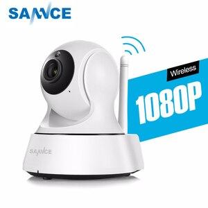 Image 1 - Sannce Hd 720P 1080P Draadloze Ip Camera Smart Cctv Security Camera P2P Netwerk Babyfoon Home Serveillance Wifi camera