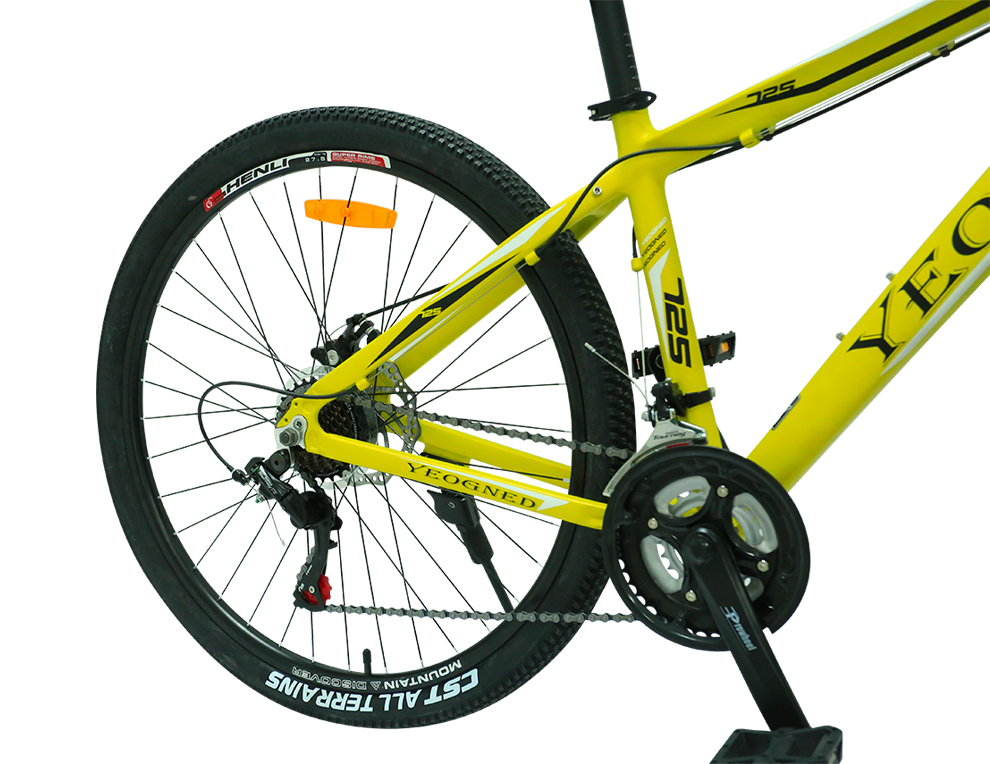 """Mountain Bike 24/"""" Bicycle Outdoor Cycling Sport  Ride 18-Speed Alloy Wheels"""