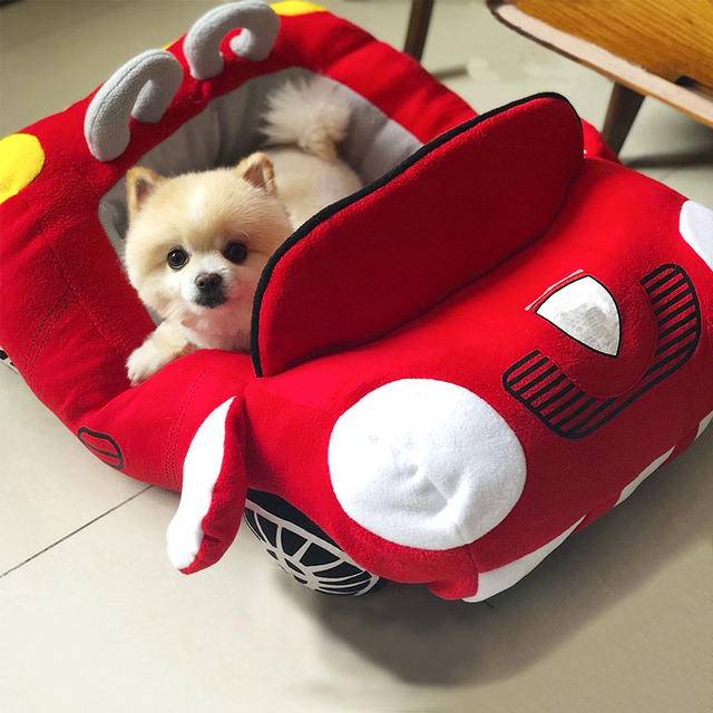 Dog Car Shape Bed