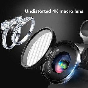 Image 4 - Mini 4K HD Super 20X Micro Phone Lens Wide Angle for Smartphone Camera 2019 New