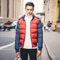 New Brand Men Winter Jacket Casual Turn-dwon Fur Hooded Parka Winter Cotton Padded Jacket Men Fashion Overcoat Outerwear