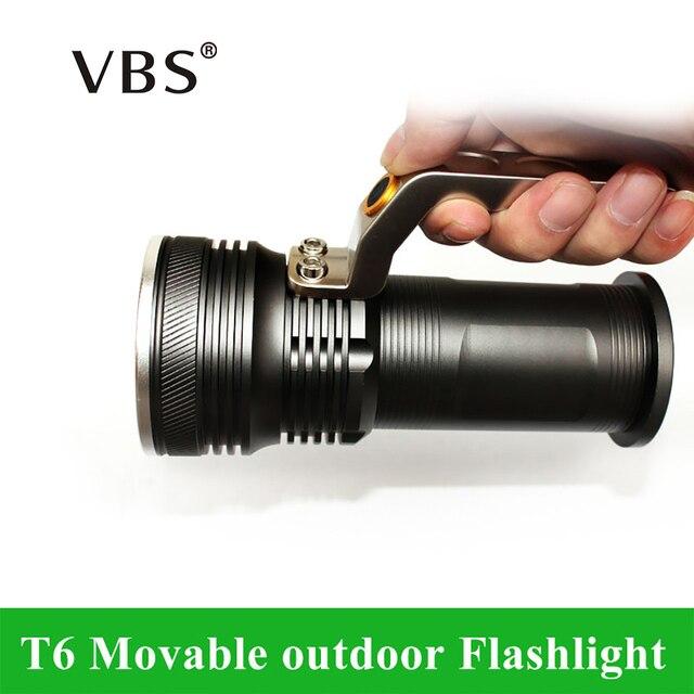 T6 Mobile clairage ext rieur rechargeable portable camping spotlight LED lampe de Poche Pas inclus 2.jpg 640x640 5 Unique Eclairage Exterieur Mobile Hjr2