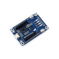 Waveshare xbee usb adaptador para uart comunicação placa mãe para core2530 (b)