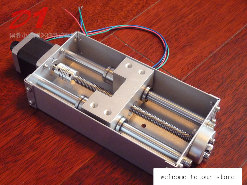 1PC Z Axis Sliding Working Table (120mm Stroke) CNC Z Shaft For CNC Engraving Machine