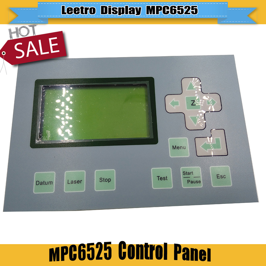 Hot sell Leetro DSP laser control panel laser DSP controller Panel Laser LCD Panel used for