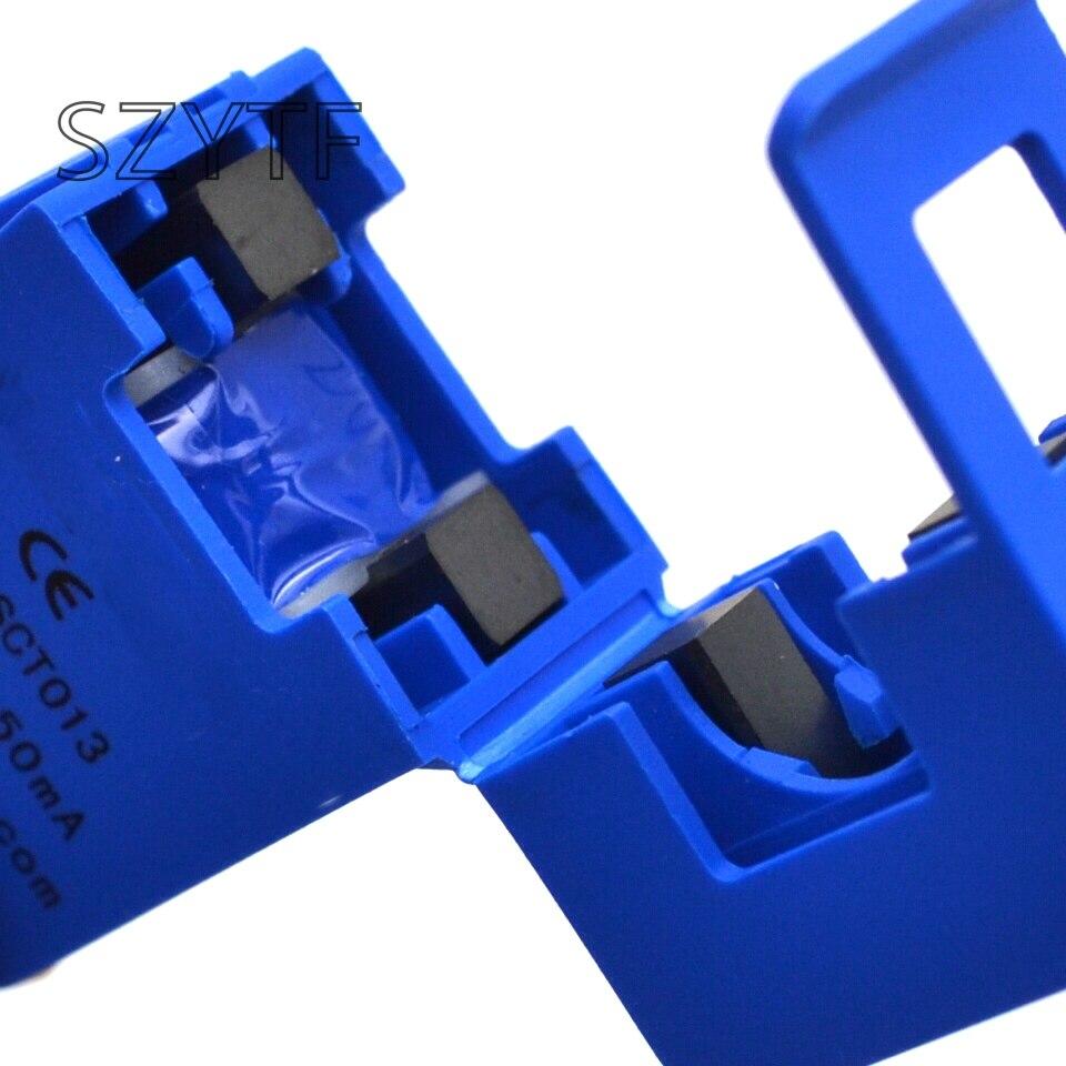 200pcs/lot Free shipping split core current transformer 0-100A AC sensor SCT-013-000 include
