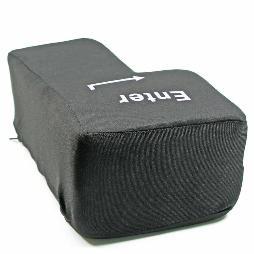 Бесплатная доставка 1 шт. USB большой ключ анти снятие стресса введите ключ офис офисная Подушка снятие стресса подставки для рук Подушка уникальный