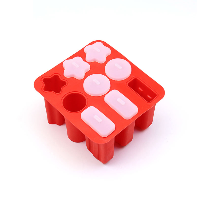 Yiwumart Silicone Ice Mold popsicle Mould For Cream Maker Tray Lolly Molds Baking Frozen Mousse Food Accessories