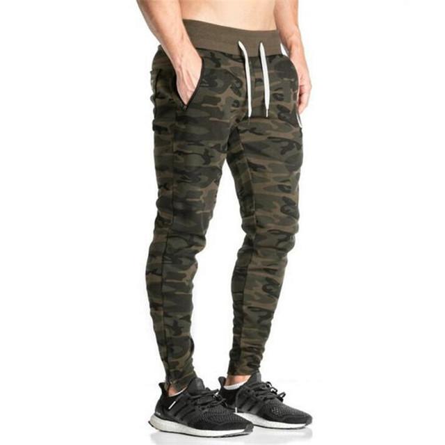 Homens Lápis Calças Skinny Militares Calças de Camuflagem Dos Homens calças Harém Personalidade Masculina Plus Size
