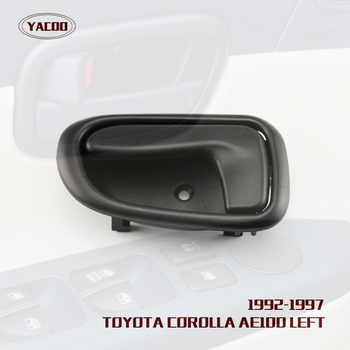 1PCS LEFT INTERIOR DOOR HANDLE FOR TOYOTA COROLLA AE100 1993-1996 OEM :69206-12130 image