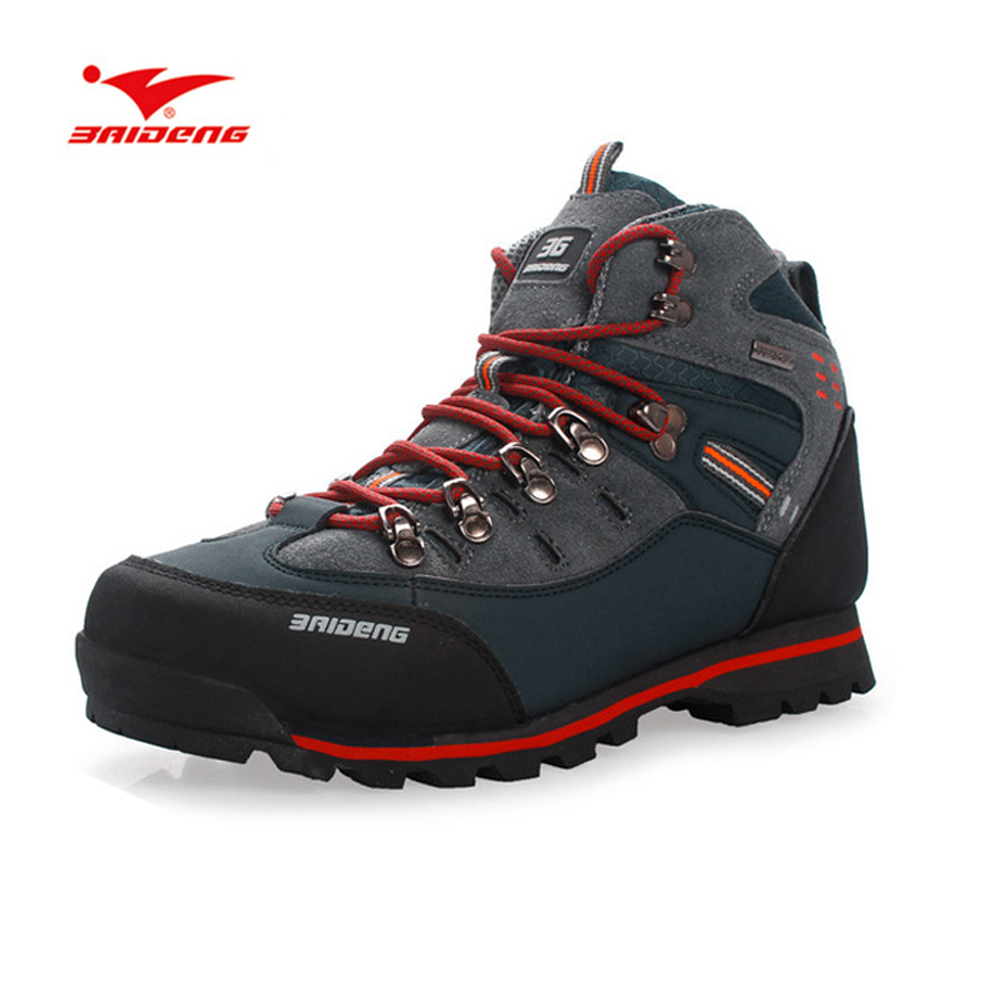 Men Waterproof Breathable Athletic Shoe Male Leather Trekking Outdoor Boot Men's Rock Climbing Sport Hiking Shoes Botas Sneakers free shipping mc9s12c64 mc9s12c64cfae 9s12c64 48 lqfp hcs12 100% new page 5