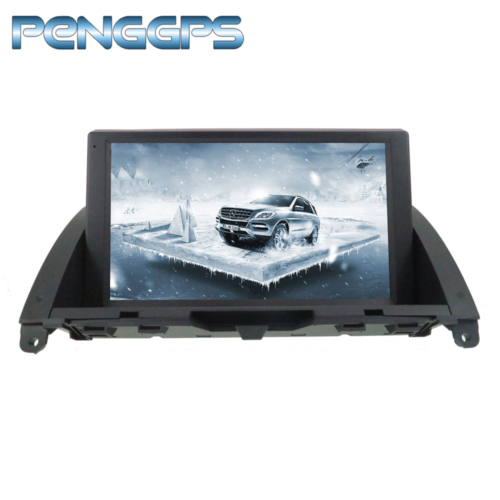 Octa Core CD DVD Player 2 Din Stereo <font><b>Android</b></font> 9.0 Car Radio for Mecerdes Benz C-<font><b>W204</b></font> 2007-2011 GPS Navigation <font><b>Autoradio</b></font> Headunit image