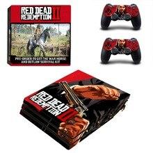 Game Red Dead Redemption 2 PS4 Pro Skin Sticker Vinyl Decal