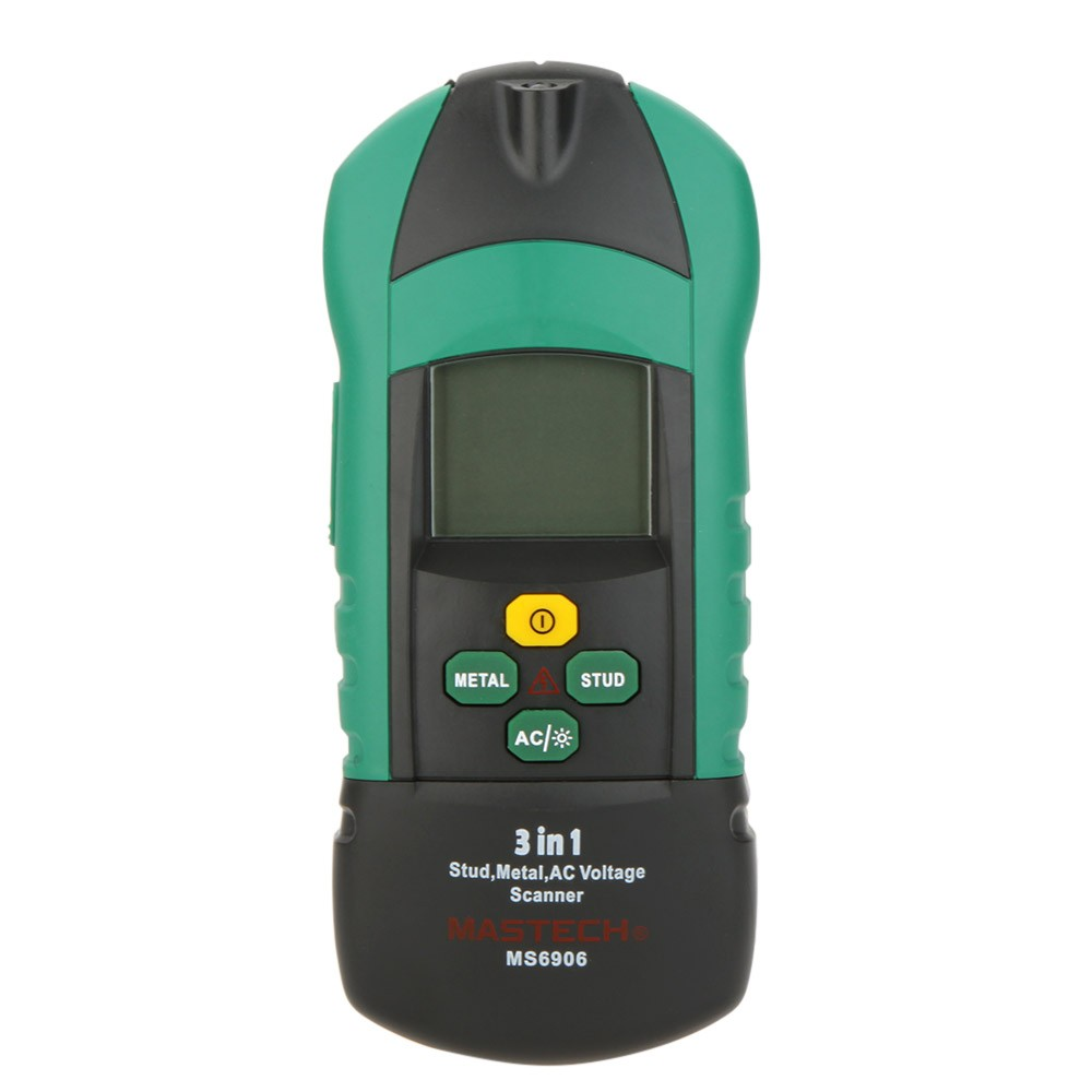 mastech ms6906 precious metal detector wall detector cable detector metal finder wall scanner wire detector stud 3-in-1detector цена