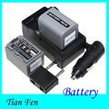 Hot Sale 2PCS Battery+Charger NP-FP70 NP FP70 Camera Rechargeable Battery For Sony