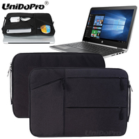 Unidopro Multifunctional Notebook Handbag Sleeve Briefcase For HP Chromebook T4M32UT ABA 14 Laptop Mallette Carrying Bag