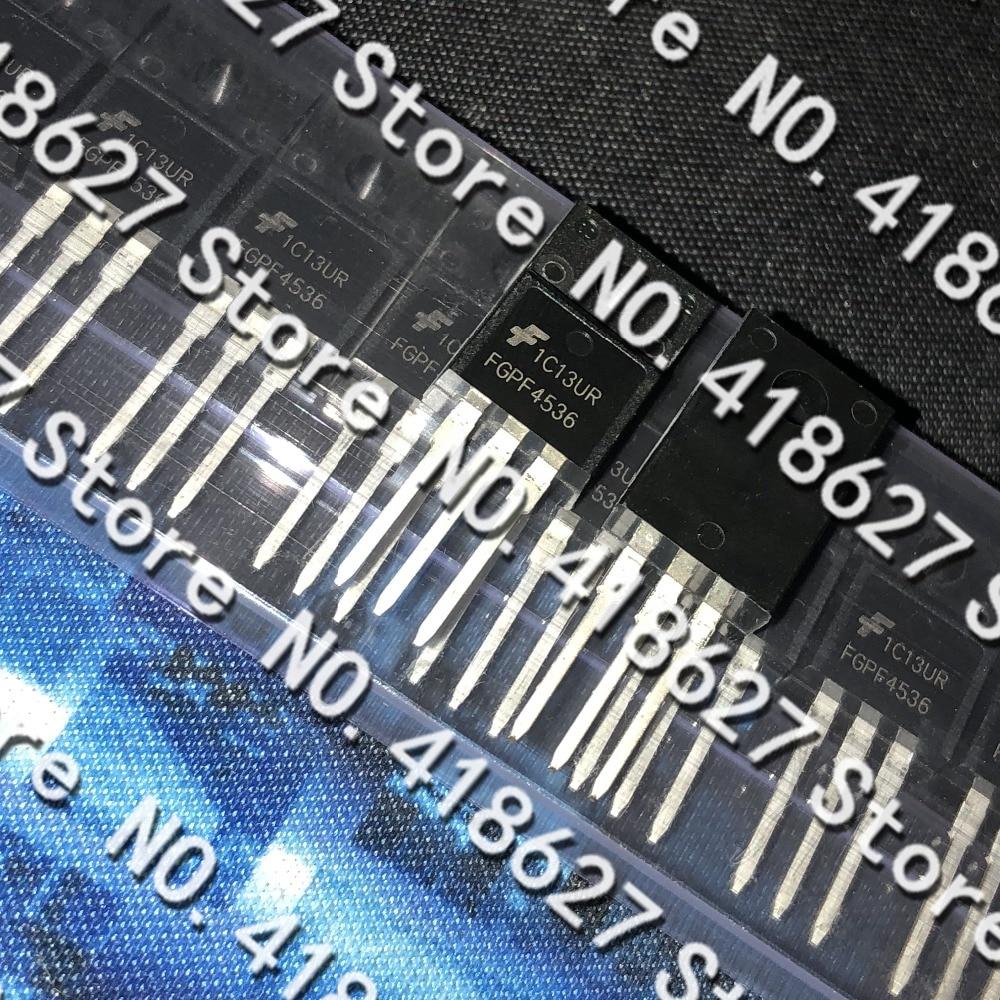 100PCS/LOT FGPF4536 TO220F LCD TV Plasma common transistor N