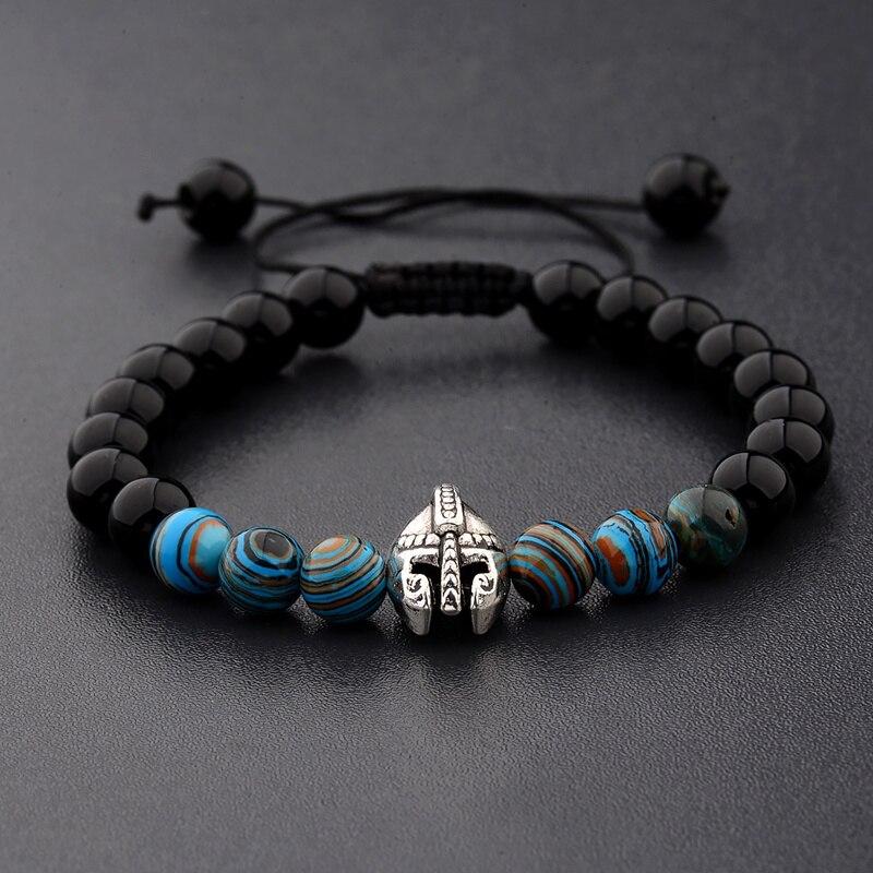 Warrior Gladiator Helmet Bright Bracelet  1