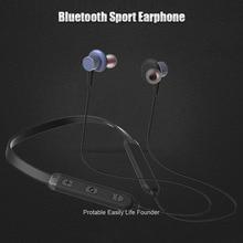 Neckband Fones De Ouvido Bluetooth com Fone de Ouvido Sem Fio Magnético Sweatproof Esporte Fones De Ouvido com Microfone Para iPhone Android