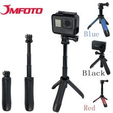 JMFOTO Mini Selfie Stick Tripod Extendable Monopod Mount SHORTY for GoPro Hero 6/5/4/3+ sj4000 H9  4K Lite Sony Action Camera bz54 monopod w tripod mount adapter for gopro hero 4 2 3 3 sj4000 nikon canon sony