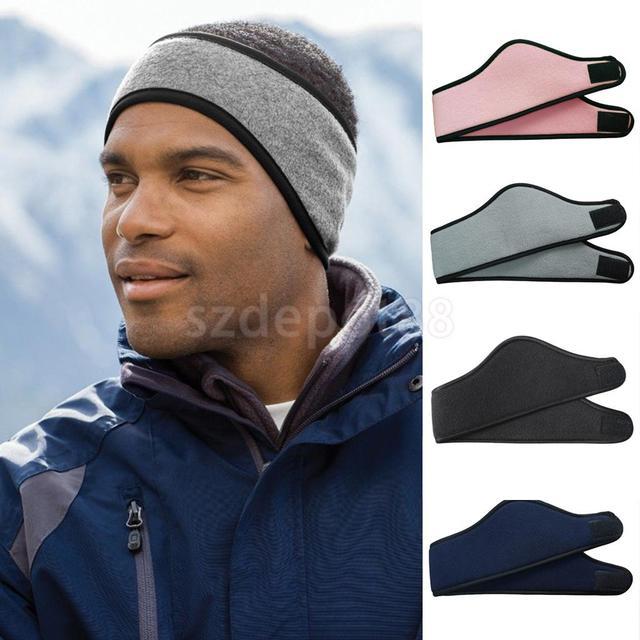 ea9c3ecf7cfba3 Männer Frauen Unisex Elastische Stirnband Haar Band Stirnbänder Yoga Laufen  Fußball Sport Ohr Wärmer