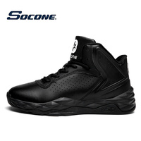 SOCONE Newest Basketball Shoes Men S Zapatillas High Top Rubber Men Outdoor Sneakers New 2016 Free