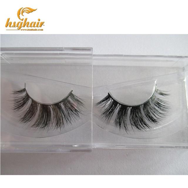 f1f785f9f92 Free shipping premium 100% real siberian mink strip eyelashes mink lashes  lilly miami lashes DL020