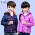 Niños chaquetas de invierno de la chaqueta de algodón para niña chaquetas de invierno para los muchachos adolescentes niños niños invierno ropa de abrigo YL280