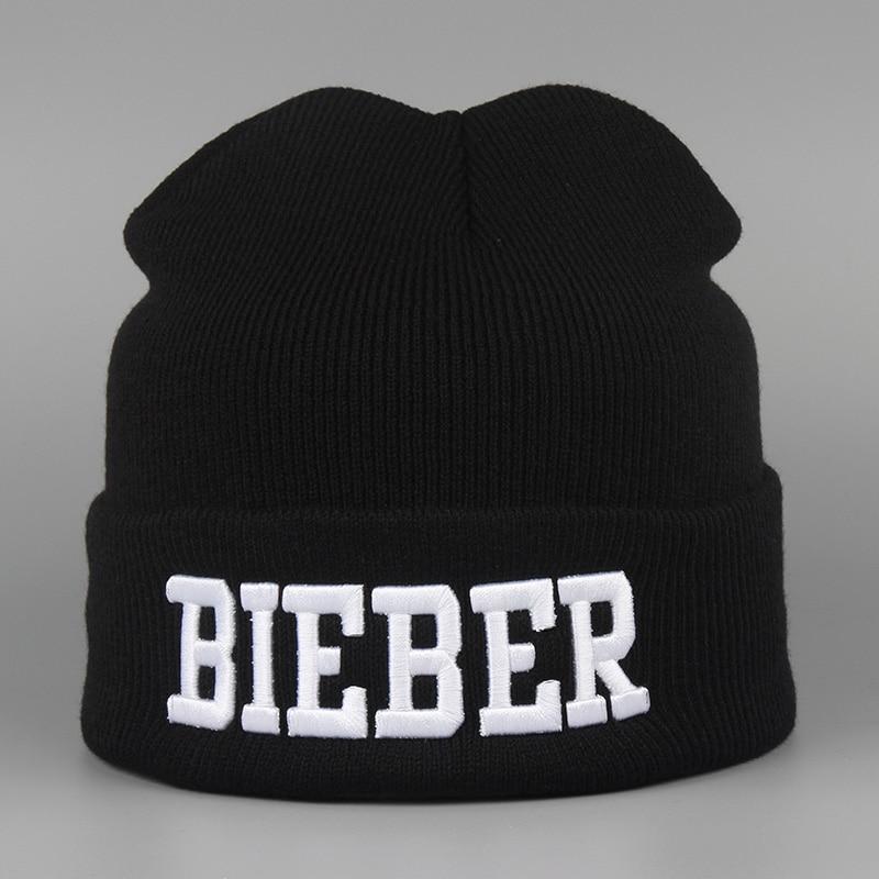 2016 New Winter Hat BIEBER Warm Sport Beanies Knit Hats For Women Ski Skullies Men Wool Caps De Inverno Gorros Bonnets Cappelli 2016 new fashion letter gorros hats bonnets