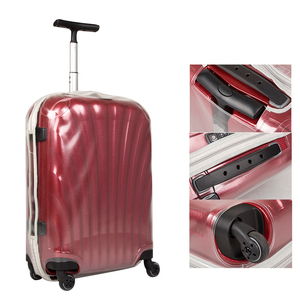 Image 5 - Thicken Transparent Luggage Cover for Samsonite Clear Suitcase Protective Covers Travel Accessories Zipper Travel Luggage Cover