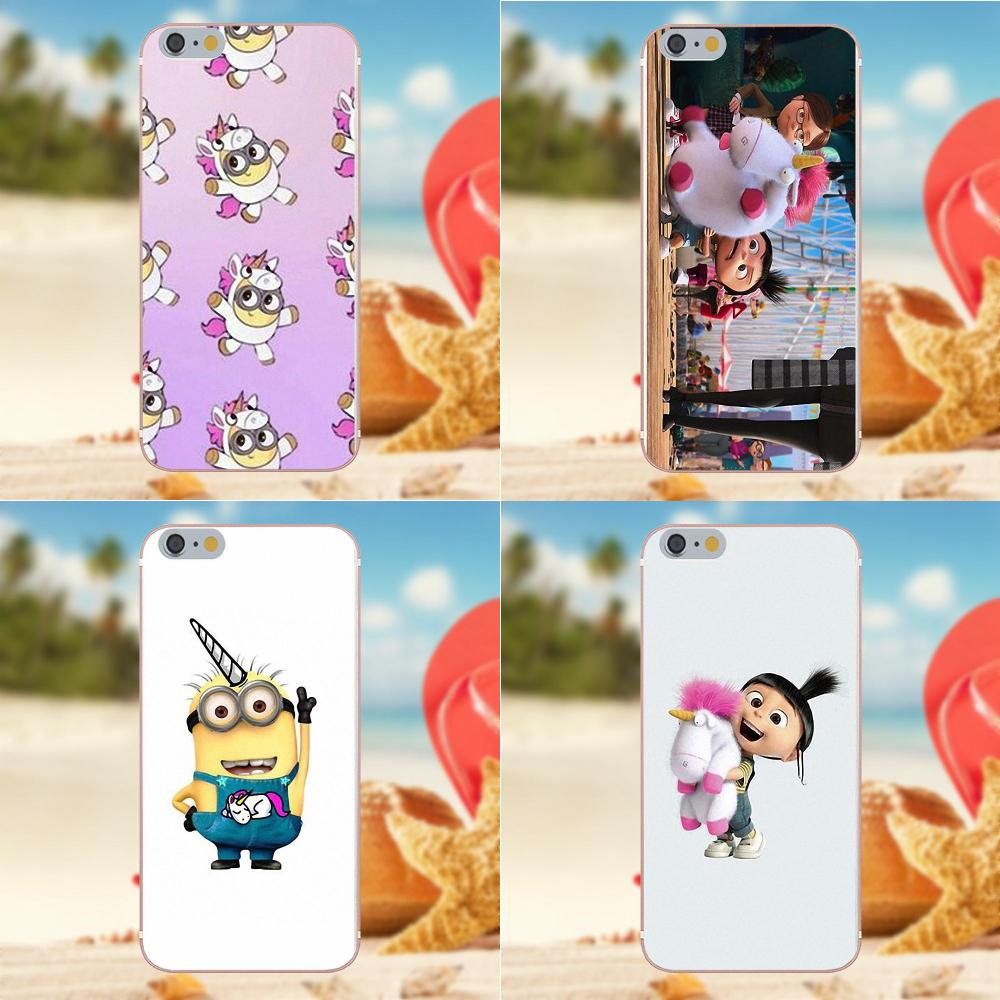 Oedmeb Soft Print Case Unicorn And Minion For Huawei G8 Honor 5C 5X 6 6X 7 8 9 Y5II Mate 9 P8 P9 P10 P20 Lite Plus 2017