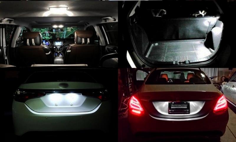 HTB1GBofSSzqK1RjSZPcq6zTepXaz T10 194 2825 WY5W W5W Filament Lights COB LED Glass Shell Wedge Auto Parking Bulbs CANBUS NO ERROR Car Reading Dome Lamp  DC 12V