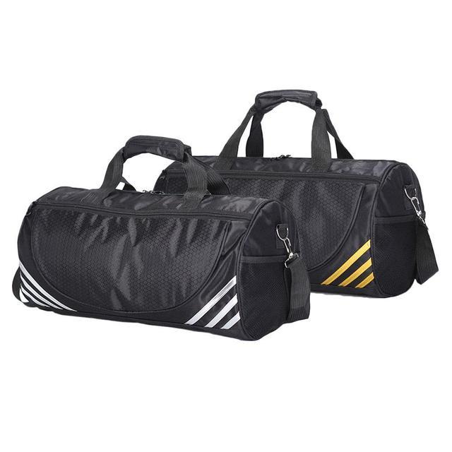 Homens Viajam Saco de Desporto de Grande Capacidade Masculino saco de Bagagem de Mão Duffle Sacos de Viagem Nylon Sapato Armazém de Nylon Saco de Ginásio de Fitness